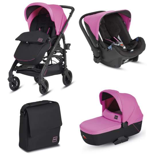 Trio Trilogy Colors Inglesina Peggy Pink