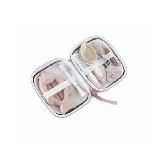 Set igiene neonato con beauty case Janè