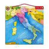Mappa d'Italia Magnetica Janod 20 pezzi