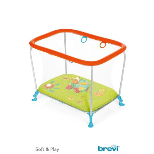 Box Soft & Play Green Farm Brevi