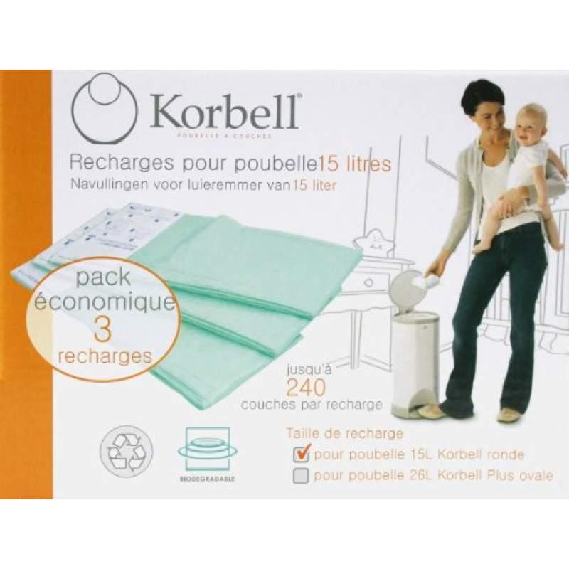 Ricariche per la spazzatura 15L Korbell