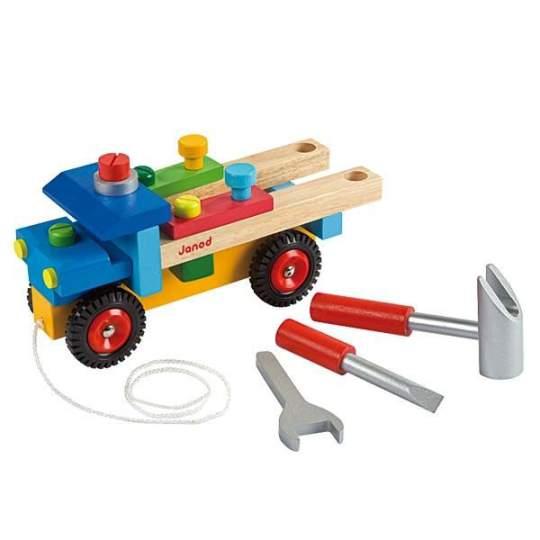 Camion Bricolo componibile Janod