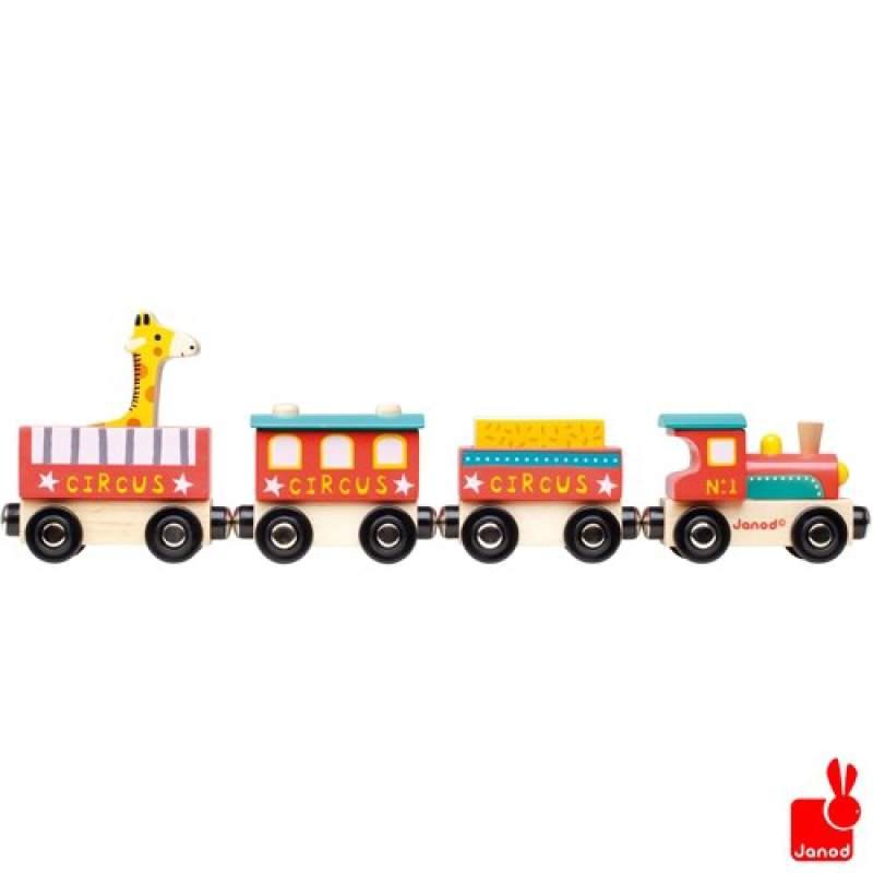 Treno Circo in legno Janod