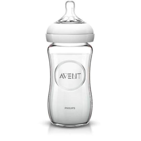 Biberon Natural in vetro 240 ml Philips Avent
