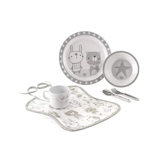 Set pappa per microonde Crockery Set Star Jané