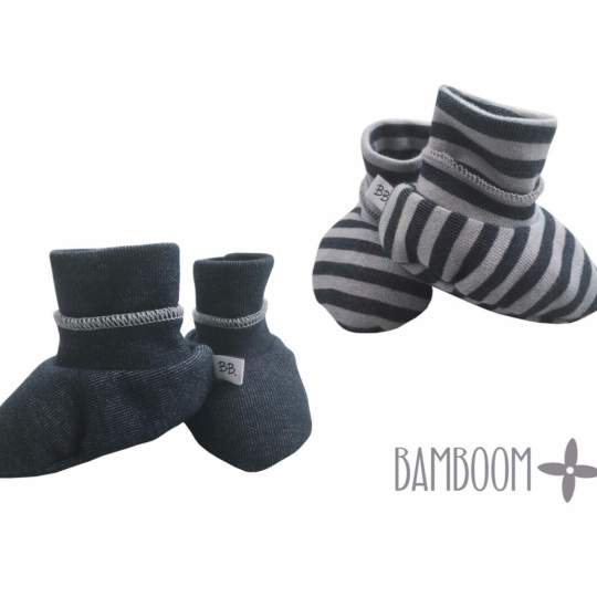 Babbucce neonato Booties Winter Bamboom