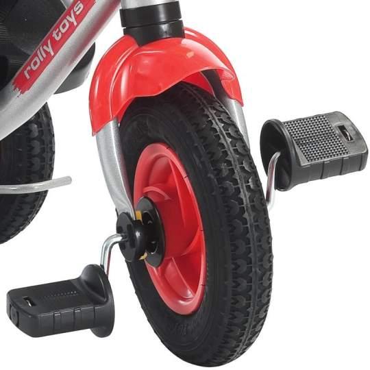 Triciclo Trento Lusso con ruote gonfiabili Rolly Toys