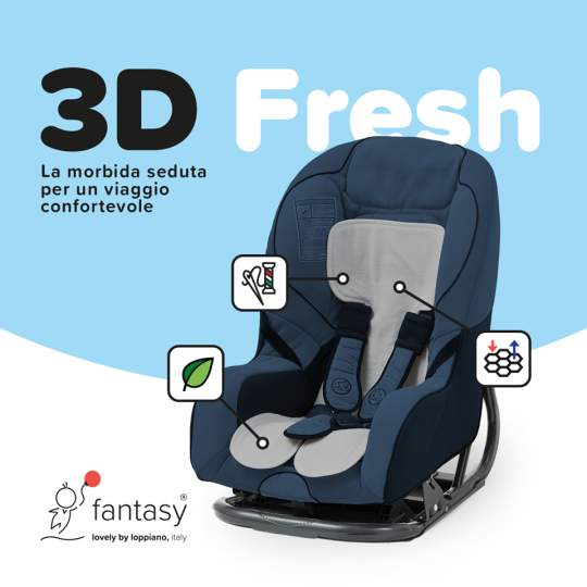 Seduta estiva copriseggiolino 3D Fresh Fantasy Loppiano gruppo 0