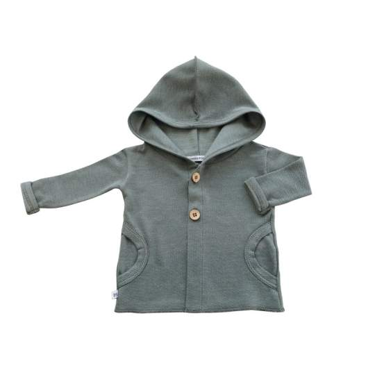 Hooded Cardigan estivo Bamboom