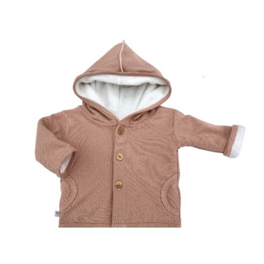 Cardigan invernale Bamboom con interno in peluche