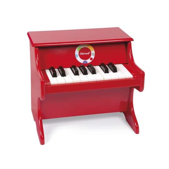 Pianoforte Rouge Confetti Janod