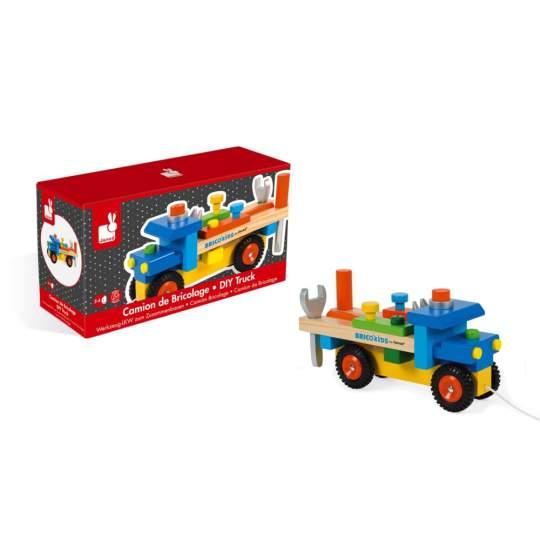 Camion Bricolage Brico Kids Janod