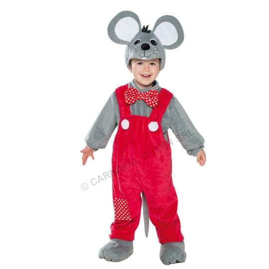 Costumino di Carnevale Topino Fancy Magic - 2/3 anni