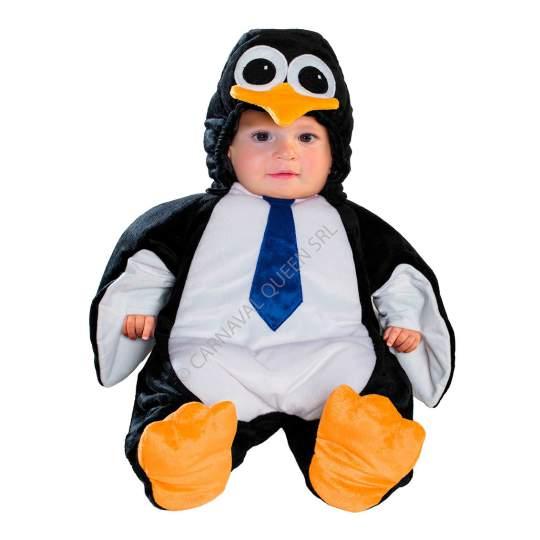 Costumino di Carnevale Pinguino Fancy Magic - 9 mesi