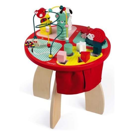 Tavolo in legno Multi Attività Baby Forest Janod