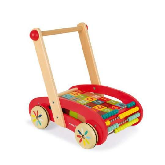 Carretto ABC Buggy Tatoo in legno Janod