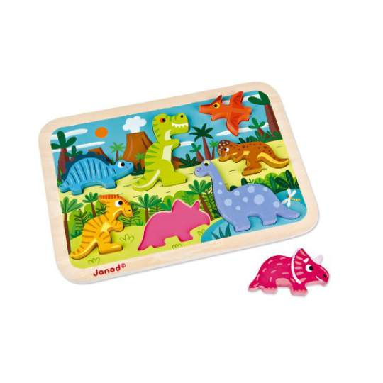 Chunky Puzzle Dinosauri Janod