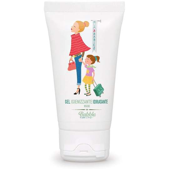 Gel igienizzante ed idratante mani Bubble & Co