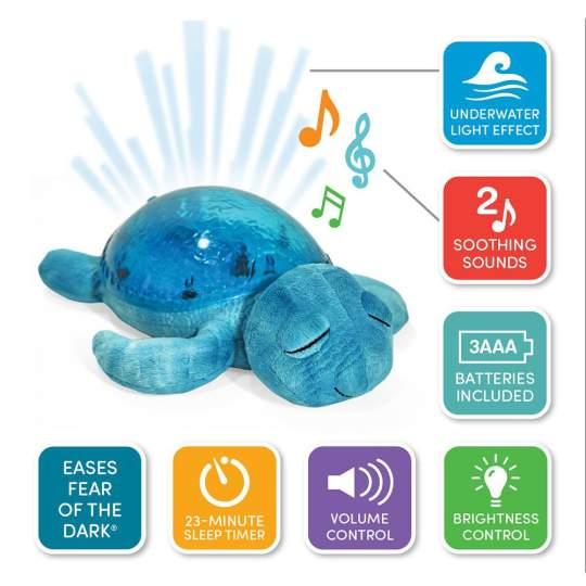 Proiettore Lampada Notturna con Suoni Tranquil Turtle Cloud B