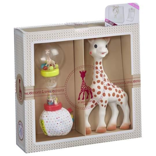 Set Regalo Sophie La Giraffa Maracas